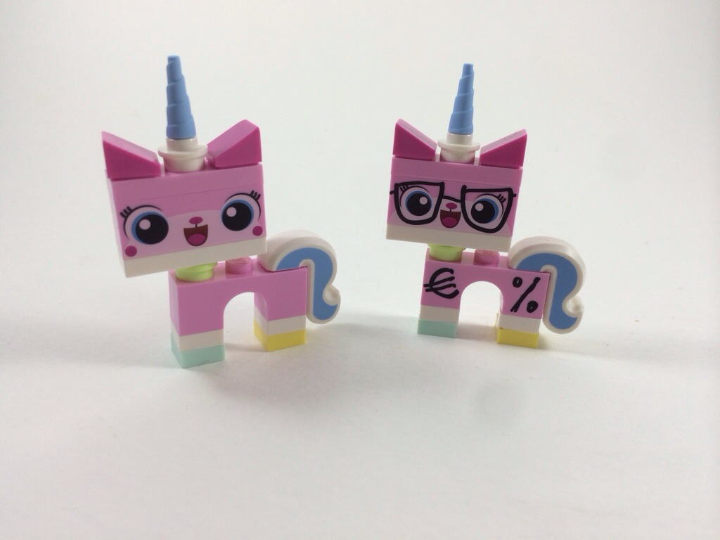 Unikitty and Business Unikitty Lego - Hugs are Fun
